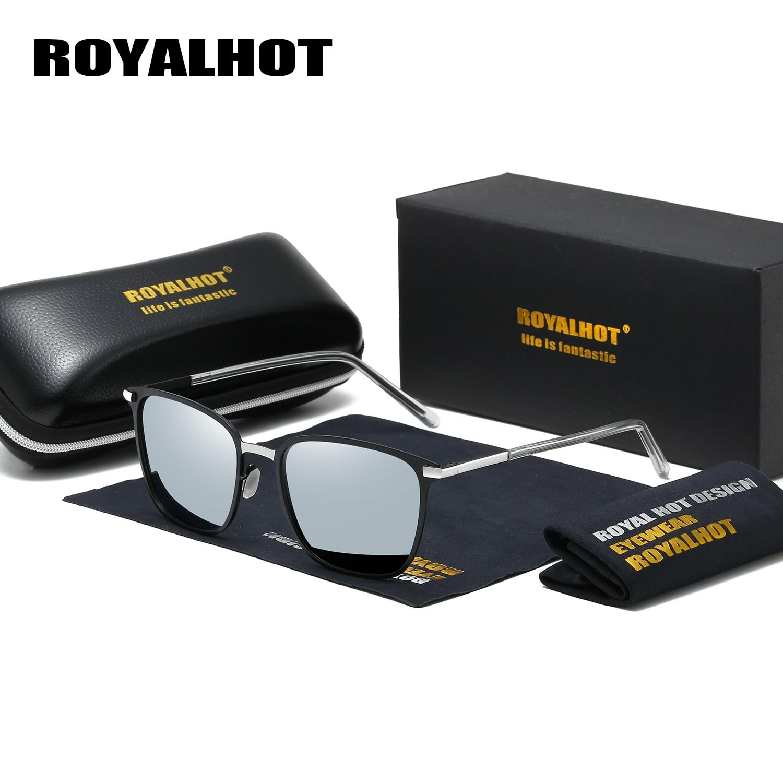 Royalhot masculino feminino óculos de sol óculos de sol óculos de condução óculos de sol de liga polarizada masculino 900120
