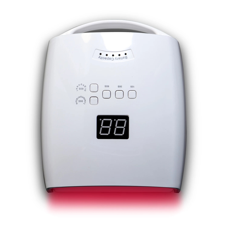 S10 Rechargeable Nail Lamp UV LED Wireless Nail Dryer Machine 48W Manicure Pedicure Light Cordless Nail LED Lamp