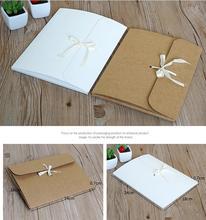 10 pièces 24*18*0.7cm logo personnalisé foulard en soie cadeau boîte de papier kraft papier enveloppe sac carte postale photo cd dvd emballage boîte écharpe cadeau