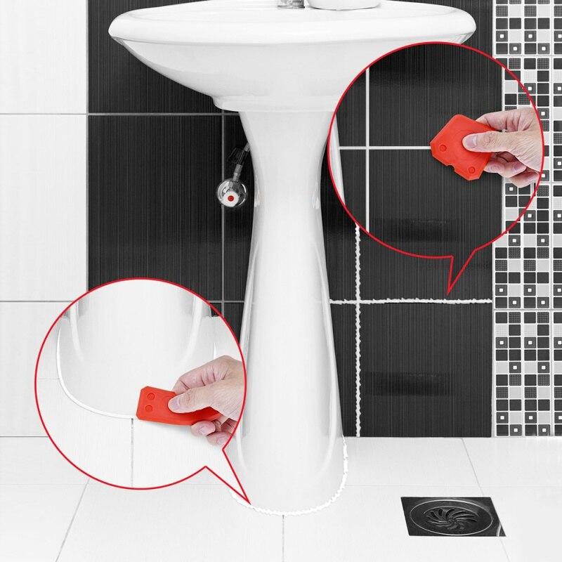 4-Piece Set Of Caulking Tool Scraper Glass Adhesive Scraper Glass Scraper Glue Angle Scraper Home Improvement Tools New