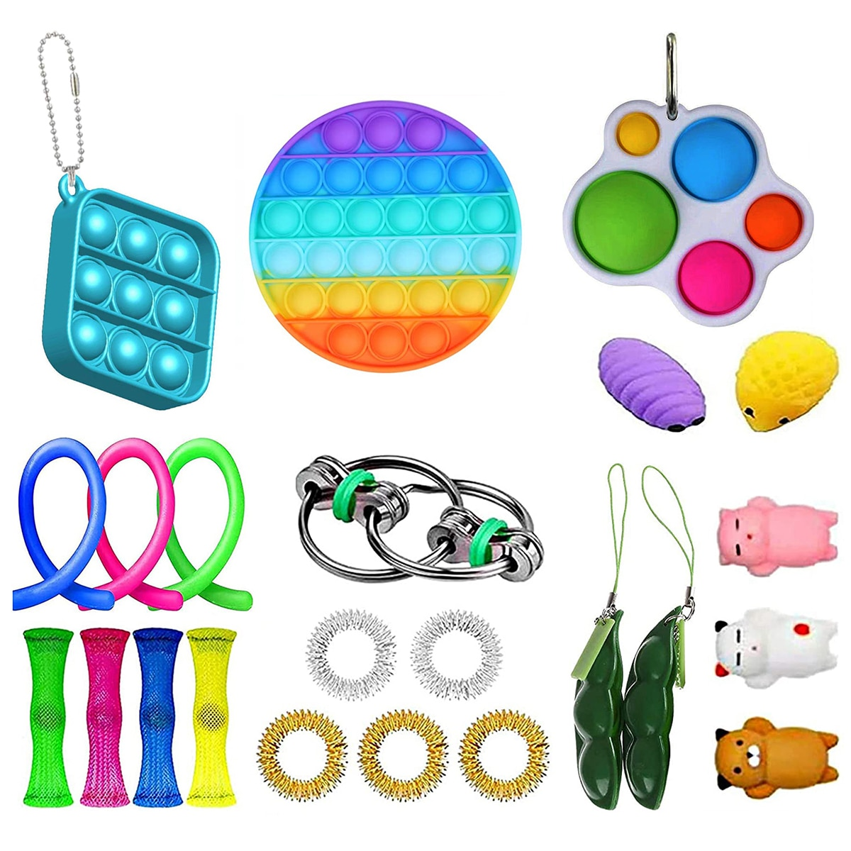 23PCS Sensory Toy Decompression Toys Suitable For Children With Autism Who Work In The Office enlarge