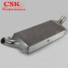 Le refroidisseur intermédiaire à montage avant en aluminium FMIC convient pour Nissan horizon R33 R34 GTR RB26DETT argent