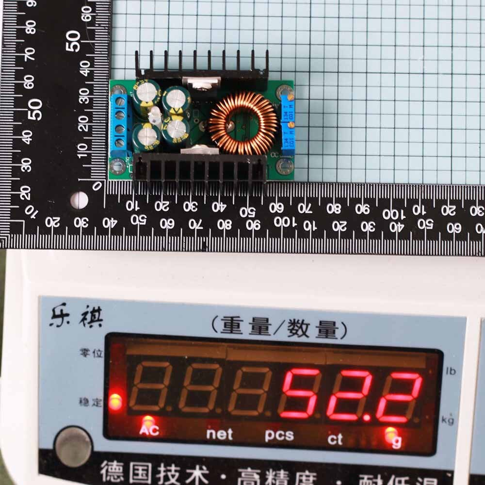 Module LED Driver 10A 300W DC-DC Converter Step-Down 8-40V To 1.25-35V With Current Control Oscillating Tools