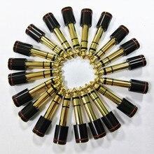 20 piezas adaptador Jack 6,3 Jack 3,5 macho hembra convertidor chapado en oro estéreo Jack 6-f-35 DIY Altavoz Conector de audio del micrófono