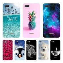 Case for Xiaomi Redmi 6A Case Cover Silicone Phone Case for Xiaomi Redmi 6A 5A 4A Cover Case Tpu Fun