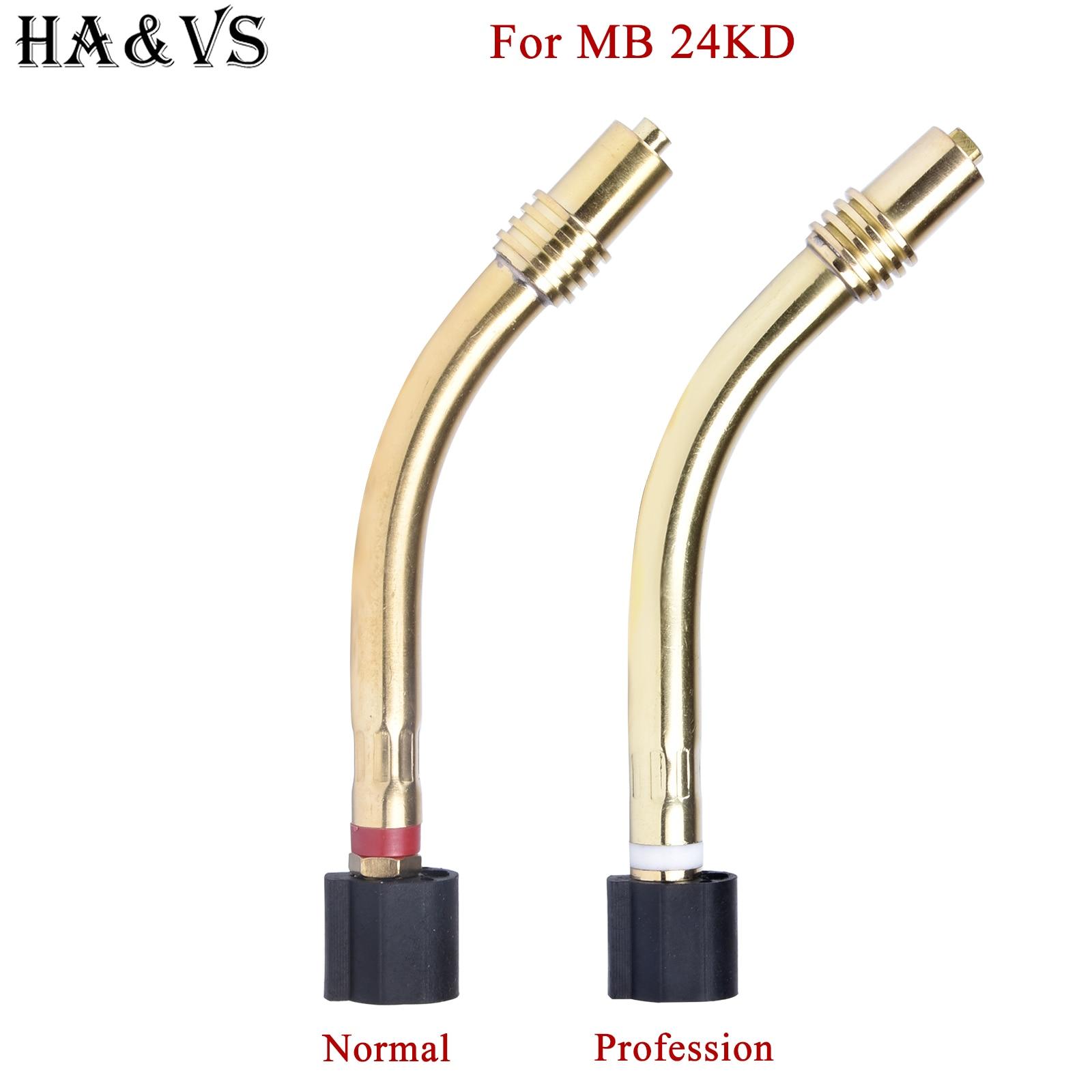 MB 24KD MIG Welding Torch SWAN NECK for Binzel Abicor Type
