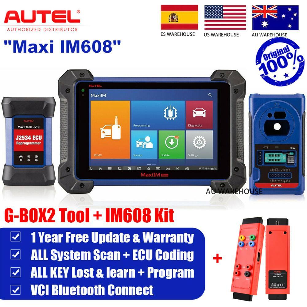 Autel IM608-programador de llaves de coche, herramienta de diagnóstico Obd2, escáner escaner...