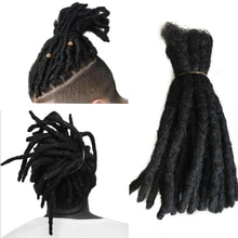 Handmade Dreadlocks Crochet Hair Extensions Crochet Braids Maya Hip-Hop Synthetic Dreads Crochet Braiding Hair Golden Beauty