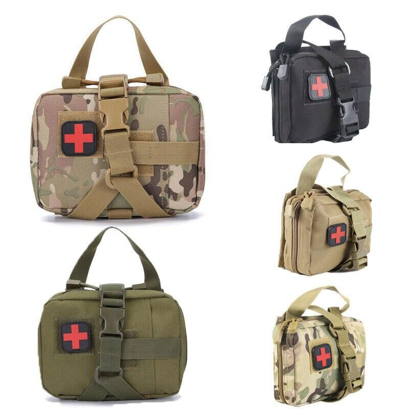 Multifonctionnel EDC trousse de premiers soins tactique en plein air stockage médical poche durgence Portable voyage Camping sacs de survie