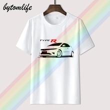 T-shirt pour Honda Civic Type R ventilateurs Fn2 Jdm t-shirt S 5xl Raid t-shirt