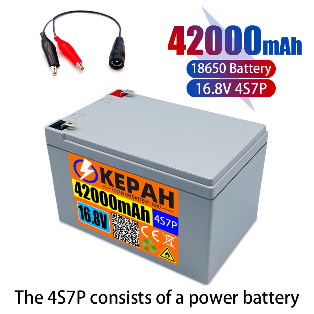 16,8v بطارية ، 42ah 4S 7p 14,8v ، 16,8v ، ومناسبة ل 16.8v معدات ، عالية الطاقة ليثيوم أيون العاكس ، سيرة سائح الخلايا الشمسية