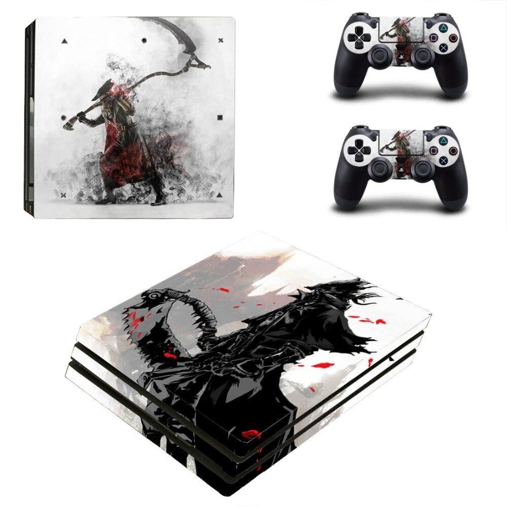 ملصقات بلايستيشن 4 برو PS4 من الدم المحمولة ، بلايستيشن 4 ، بلايستيشن 4 PS4 برو ، وحدة التحكم والجلود الفينيل