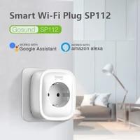 2 USB WiFi Smart Plug Socket 16A Tuya Remote Timing Control Home Appliances Works with Alexa Google Home No Hub Require