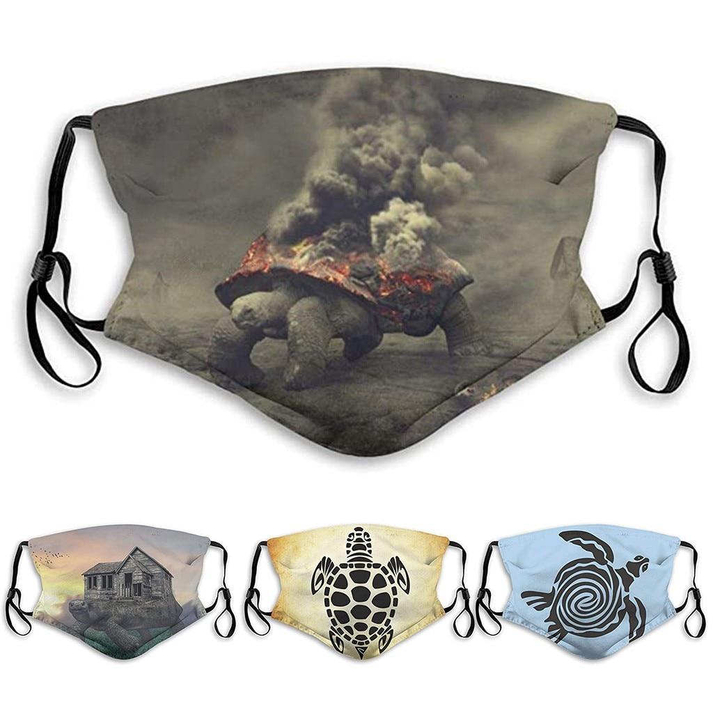 Face Mask Scarf Mascarilla Mascarar Cotton Face Mask Pm2.5 Activated Carbon Mask Washable And Reusable Lot Maska Mascarillas