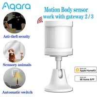 Aqara     capteur de mouvement ZigBee  capteur de corps humain  connexion sans fil pour systeme dalarme  fonctionne avec Apple Homekit Xiaomi mijia