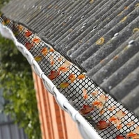 plastic mesh gutter protector shelter leaf residue prevent leaves or debris clogged water pipes gutter cover protection hot