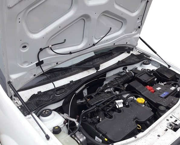 Für Renault Logan ICH Tonda 2004-2012 für Nissan Aprio Front Hood ändern Gas Frühling Carbon Faser Lift Unterstützt streben Stange Schocks