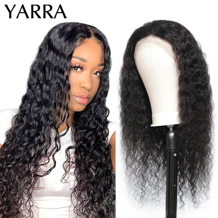onda profunda brasileira do laco frontal do cabelo humano perucas 13x4 frontal pre