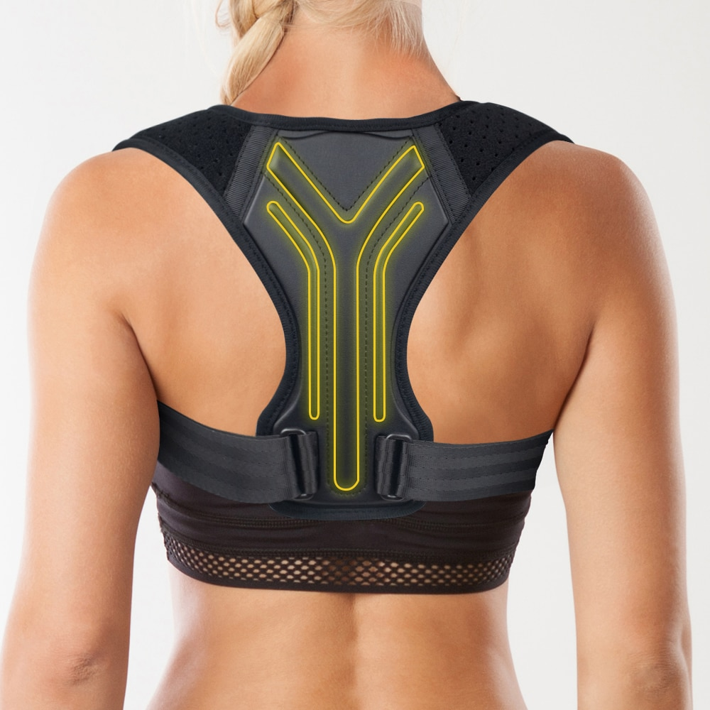 Back Posture Corrector Corset Clavicle Spine Posture Correction Adjustable Support Belt Pain Relief Traine Spine Posture Support