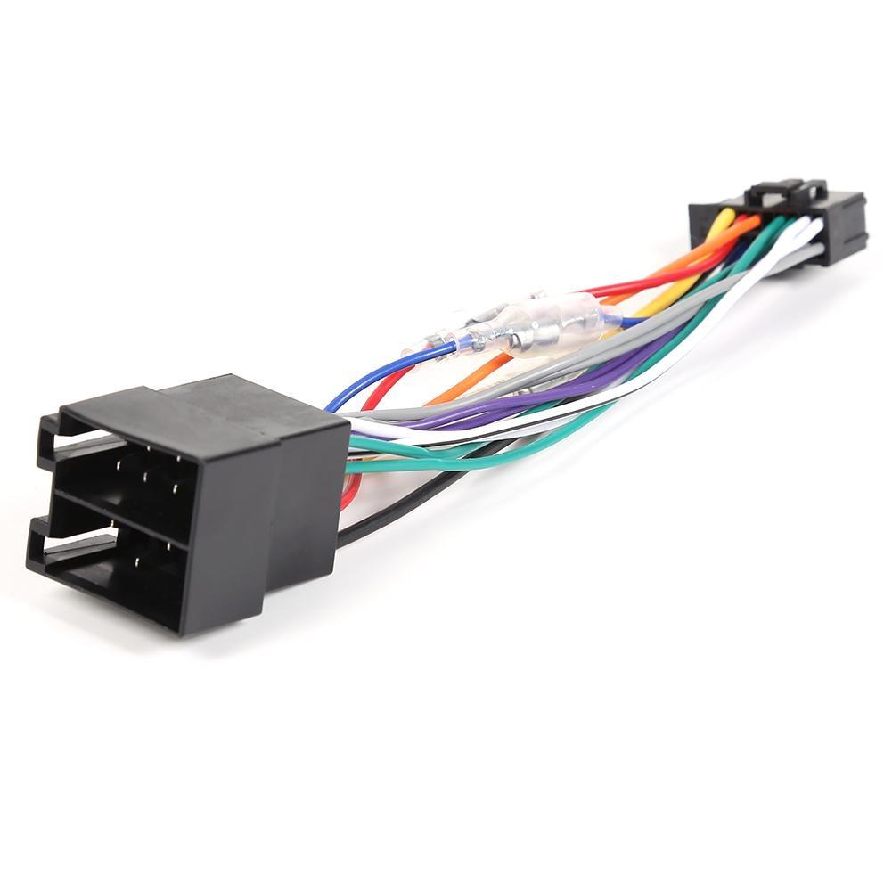 Durable estéreo conector de arnés de cableado auto Radio estéreo ISO conector...