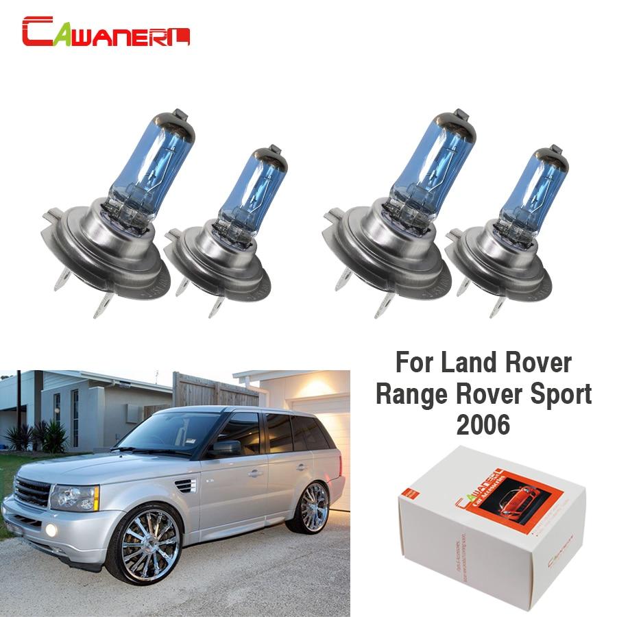 Автомобильная фара Cawanerl 4X100 Вт, галогенная лампа высокой мощности для Land Rover Range Rover Sport 2006