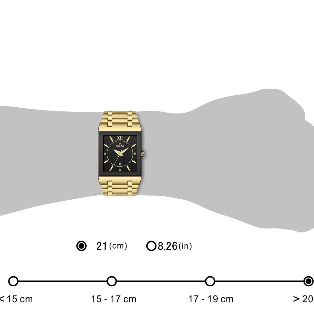 Relogio Feminino Luxury Golden Dress Watches Women Creative Square Quartz Wristwatches Waterproof Stainless Steel Bracelet Watch enlarge
