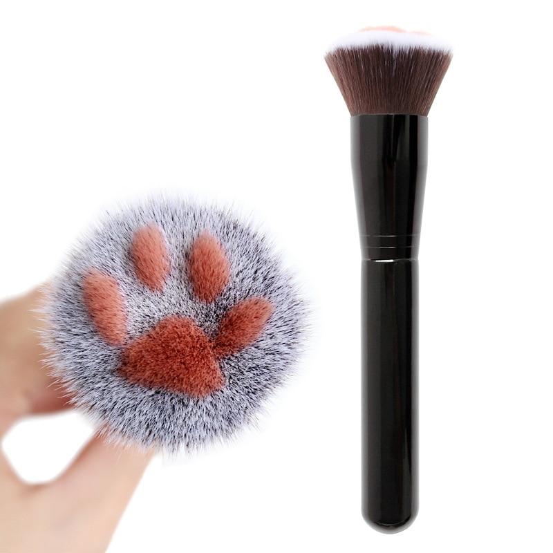 2 Colors High Quality Professional Makeup Brushes Face Makeup Brushes Cat Claw Paw Makeup Brushes Fashion Girl Use Make Up Tools