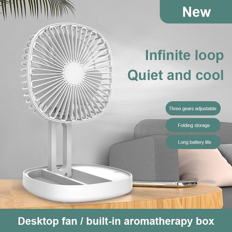 Фото - Новый складной вентилятор Ручной портативный Электрический вентилятор маленькая бытовая техника USB мини-вентилятор бытовая техника electrolux вентилятор напольный eff 1005