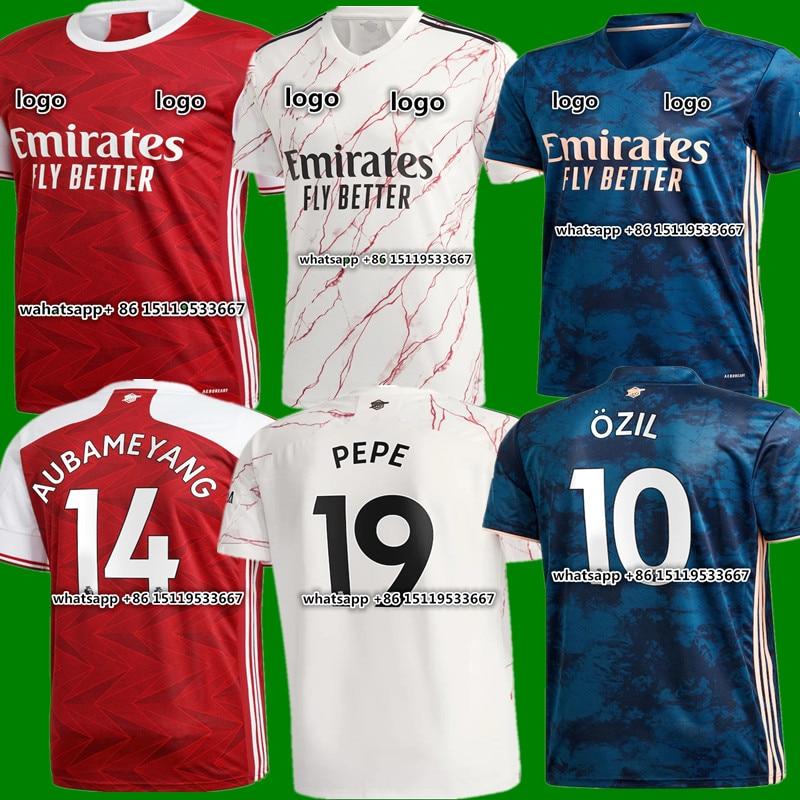 Odegaard new adult 2020-21 ArsenalES shirt BELLERIN SAKS XHAKA AUBAMEYANG OZIL LACAZETTE GUENDOUZI PEPE 20 21 shirt