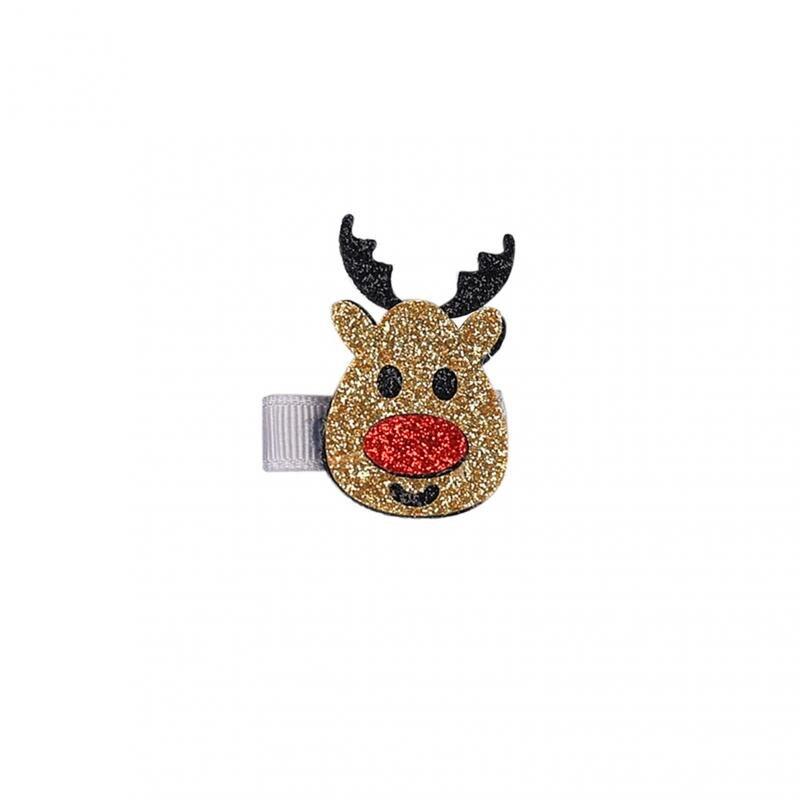 1 шт. Мультяшные рождественские подарки, заколки для девочек, аксессуары для волос, заколки для волос на Рождество, заколки для волос