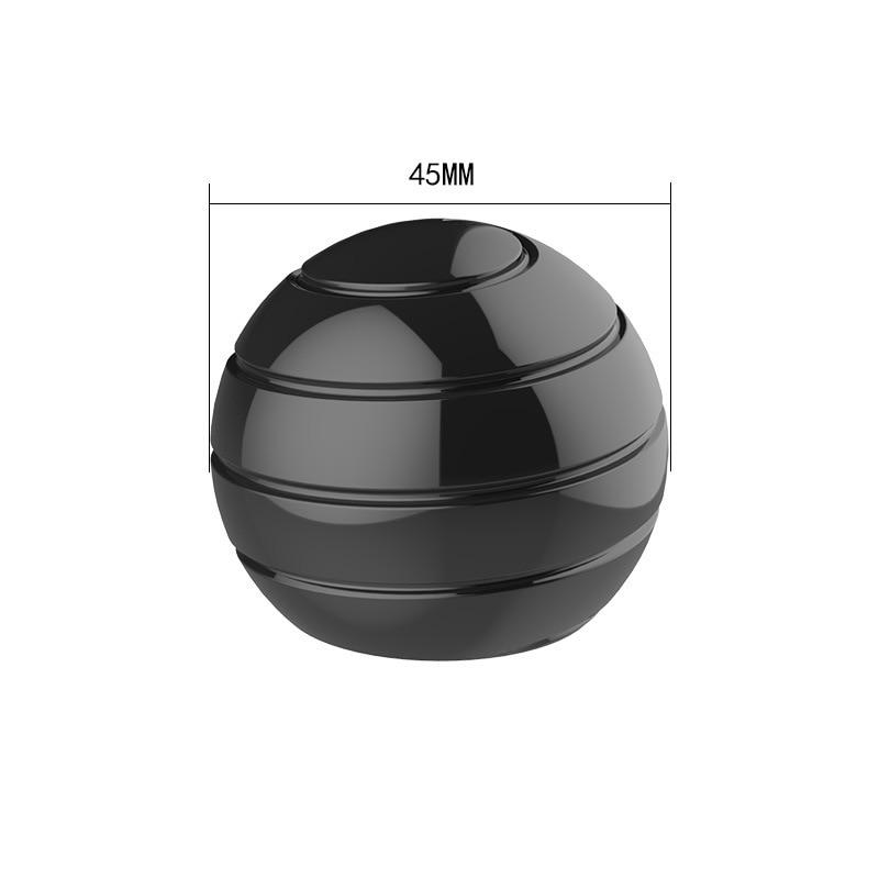 Lucky Desktop Spinning Ball Fingertip Top Fidget Stress Relief Gyro Toy enlarge
