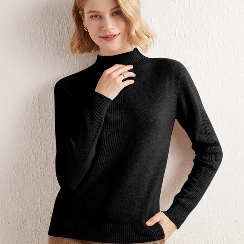 سترة الإناث البلوز المرأة معطف شتاء طويل الشتاء كابل محبوك المتضخم سترة واحدة