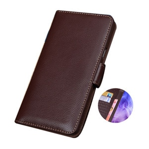 Business Genuine Leather Wallet Mobile Phone Case Card Holder For UMIDIGI BISON GT/UMIDIGI BISON/UMIDIGI A9 Pro Cover Stand Case