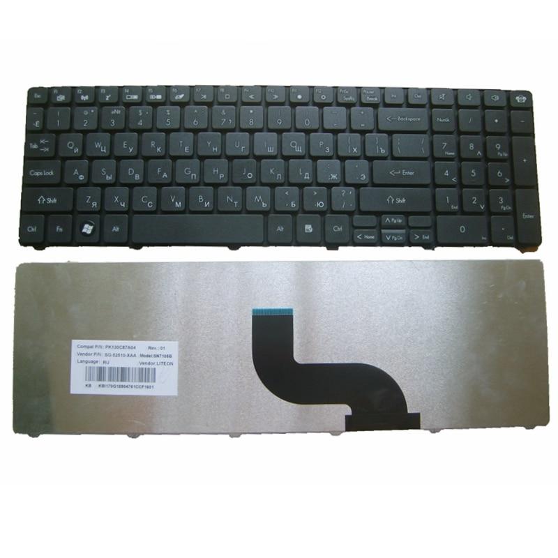 Ruso Packard Bell Easynote TK37 TK81 TK83 TK85 TX86 TK87 TM05 TM80 TM81 TM97 TM86 TM87 TM82 NEW91 teclado del ordenador portátil