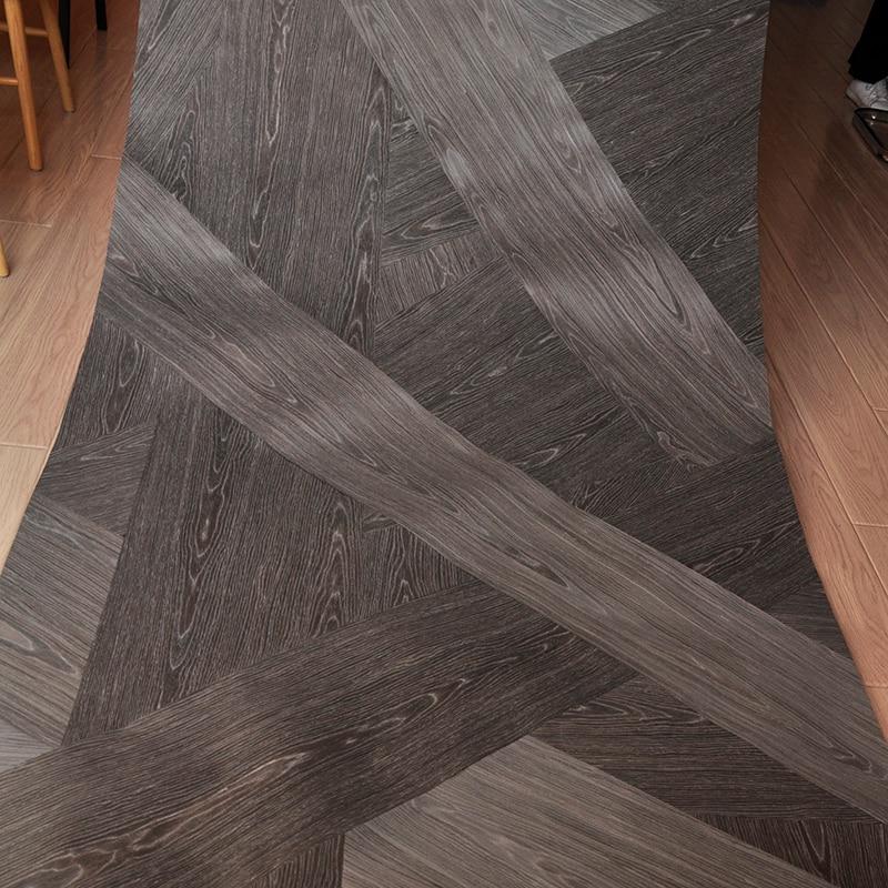 Hand-made  Black Brown OAK Wood Veneer Size 250x125 CM  Flooring DIY Furniture