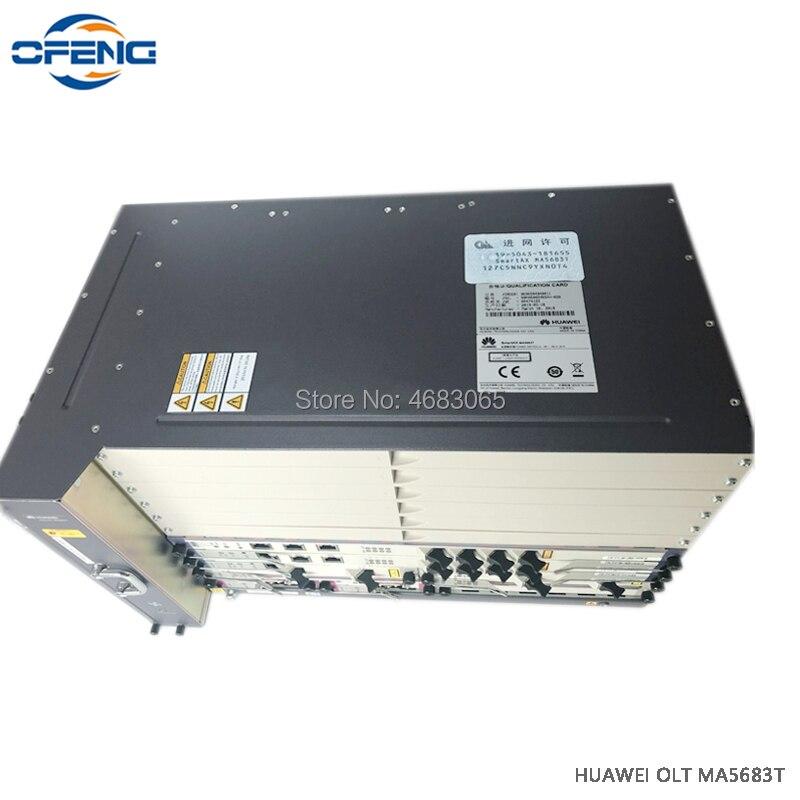 Huawei MA5683T 10G OLT con 2xSCUN control + 2xPRTE placa potencia 100% mew Fttb/Fttc /Ftth GPON EPON terminal de línea óptico