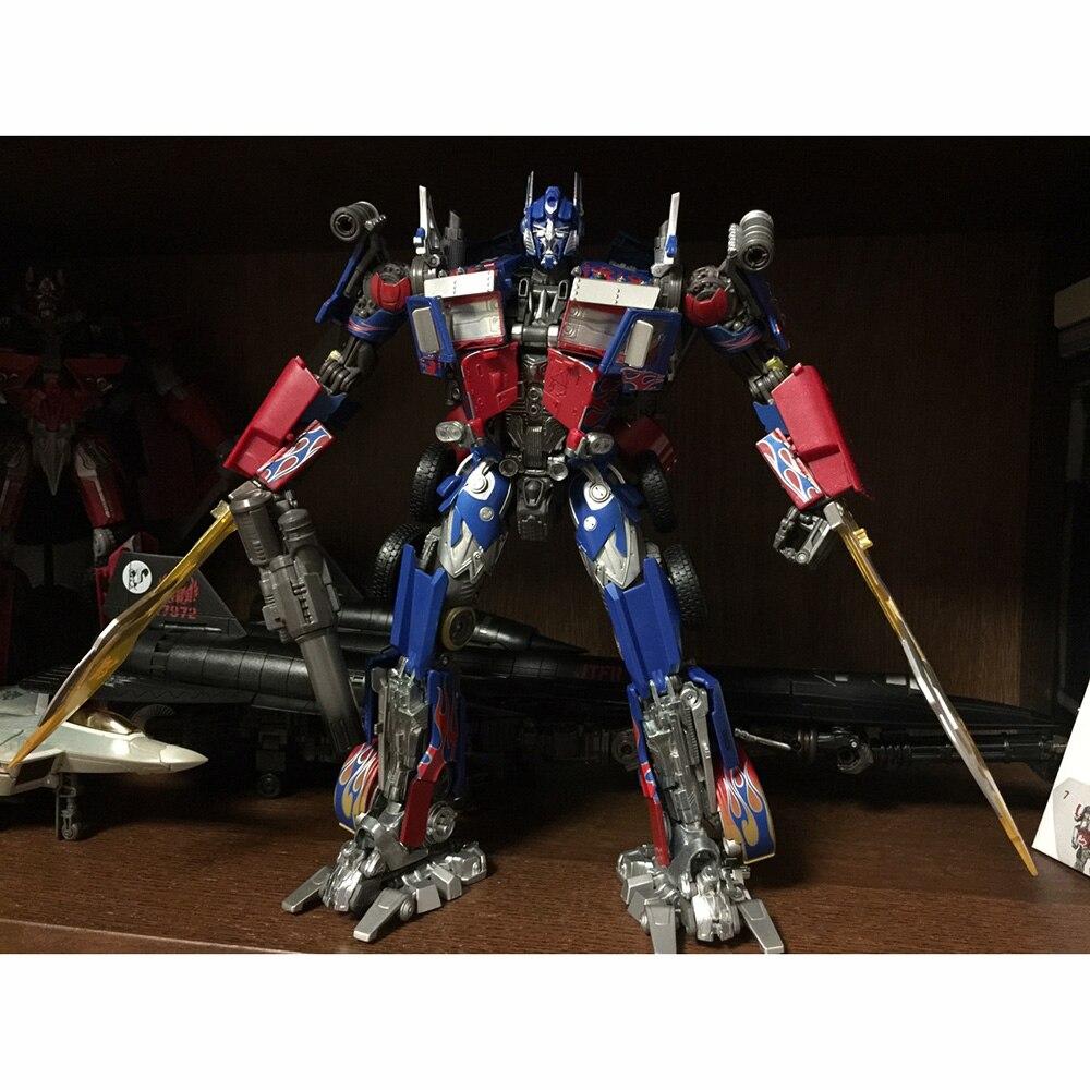 Takara Tomy transformateurs Robots film L MPM-4 MP Optimus Prime déformation figurine jouets Collections