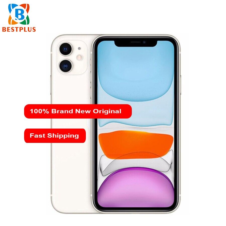 "2019 New Apple iphone 11 A2223 Mobile Phone 6.1"" 4GB RAM 128GB ROM Hexa-core iOS 13 IP68 waterproof Dual SIM 3046mAh Smart Phone"