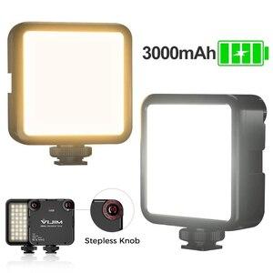 VIJIM VL81 3200-5600K 6,5 Вт светодиодный видео светильник мини Vlog заполнясветильник для Sony A6400 A6300 перезаряжаемый смартфон DSLR SLR