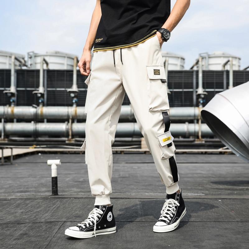 Чоловічі бічні штани з кишенями, - Чоловічий одяг - фото 6