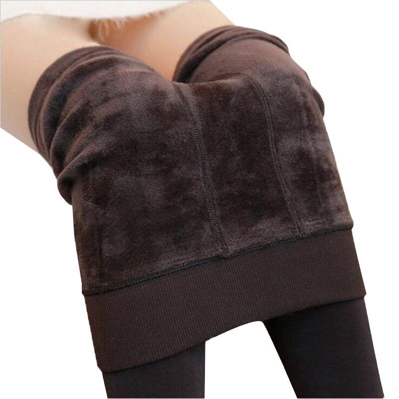 Nessaj Otoño Invierno moda mujer más Leotardos de cachemir de alta calidad de punto de terciopelo medias elásticas delgadas cálidas medias gruesas