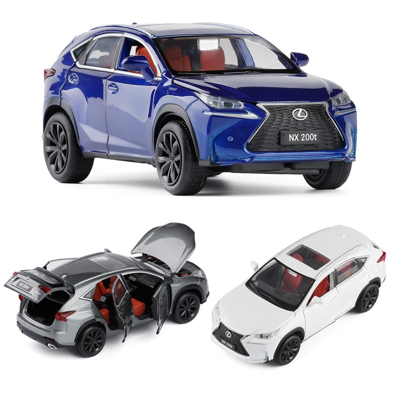 1:32 Lexus NX200t Car Model Alloy Car Die Cast Model Toy Car Kid Toy BirthdayChristmas Gifts Free Shipping