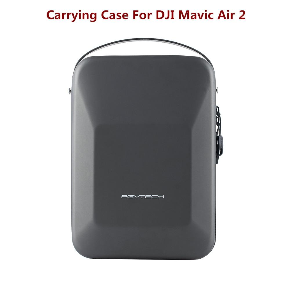 PGYTECH حمل الحال بالنسبة DJI Mavic الهواء 2S الطائرة بدون طيار المحمولة حقيبة حقيبة التخزين ل DJI Mavic الهواء 2S/الهواء 2 كيس/صندوق ملحقات طائرة بدون طيار