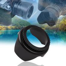 Professionelle Kamera Objektiv Haube 52mm 55mm 58mm 62mm 67mm durchmesser Blume Form Screw Mount Objektiv haube für Nikon Kanone Sony Kamera