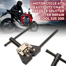Chain Cutter Breaker Tool fit chain sizes 415 420 428 520 530 Motorcycle Dirt Bike ATV Chain Link Breaker Splitter Remover Tool