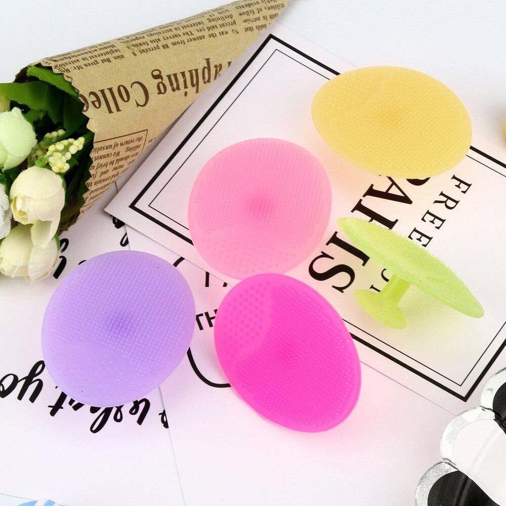 New Bath Facial Silicone Beauty Wash Pad Face Exfoliating Blackhead Clean Silicone Shampoo Exfoliati