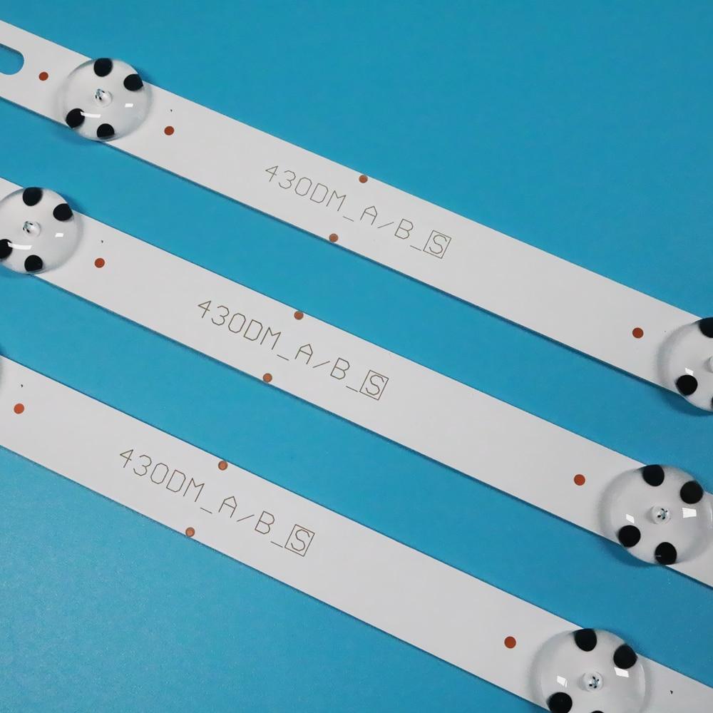 83 سنتيمتر LED قطاع 7 LED ل LG 43UK6300PLB 43UH603V 43UJ634V 43LJ61_FHD_L LC43490059A LC43490058A Innotek 17Y 43inch_A LC43490074A