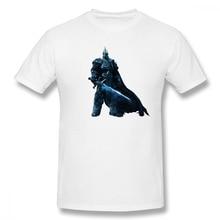 World Of Warcraft King Casual O-Neck Mens Basic Short Sleeve T-Shirt 100% Cotton Tee Shirt Printed