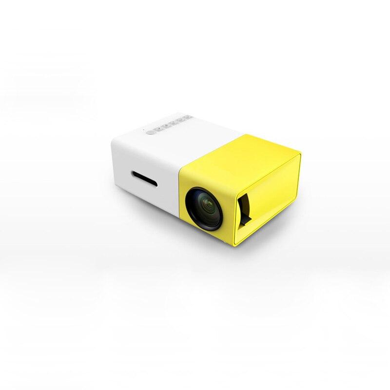 Mini proyector LED de 320x240 píxeles compatible con 1080P YG-300 HDMI USB envío gratis proyector de Audio portátil reproductor de Video doméstico