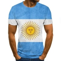 2021 men t shirt big size summer fashion 3d national flag printed t shirt for men personalized short sleeve men clothes o collar